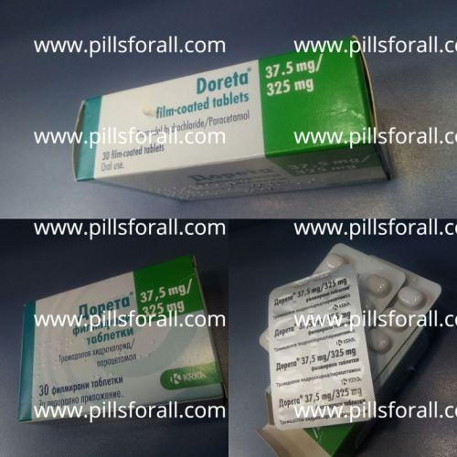 Ultram generic. Tramadol 37.5mg plus acetaminopen 325mg  x 100 . Made in EU. Delivery from EU