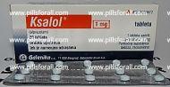 Xanax generic Ksalol ( alprazolam ) 1mg x 250 pills. Delivery from EU