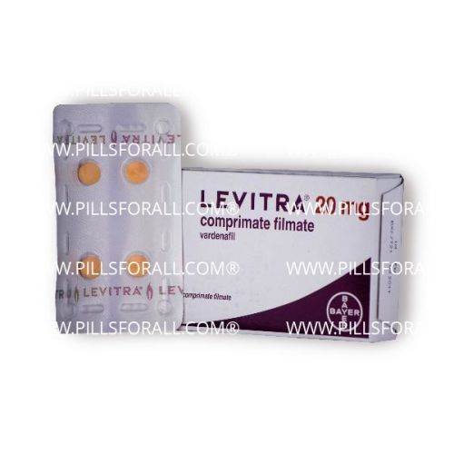 Levitra. brand Bayer 20mg x 10. Delivery from EU