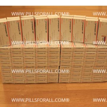 Ativan generic  lorazepam 2.5mg by Hemofarm x 180. Delivery from EU.