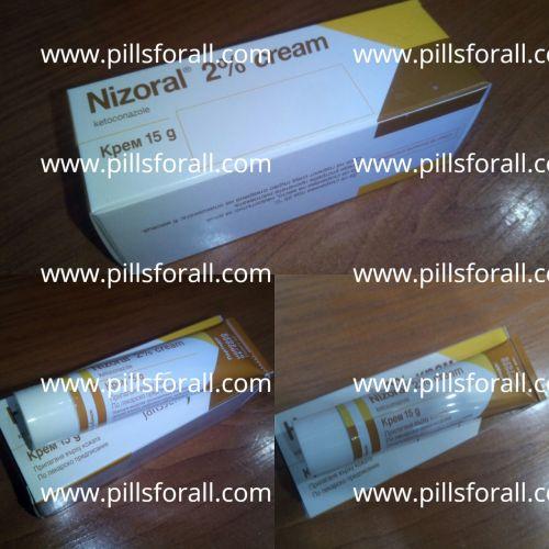 Nizoral 2% brand ketoconazole x 15g x 6 tubes