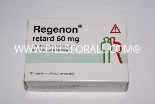 Regenon/Tenuate Retard  25mg x 100