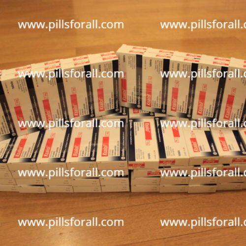Xanax generic Ksalol ( alprazolam ) 1mg x 50 pills. Delivery from EU
