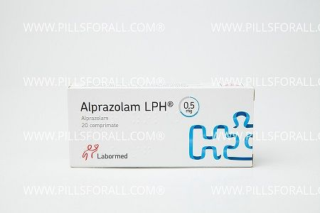 Xanax generic ( alprazolam ) 0.5mg x 100 . Delivery from EU