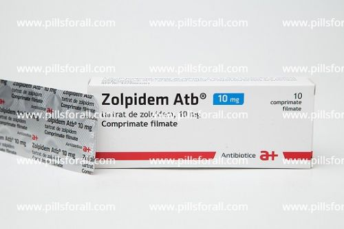 Ambien generic by atb labs, Zolpidem 10mg x 50. Delivery from EU